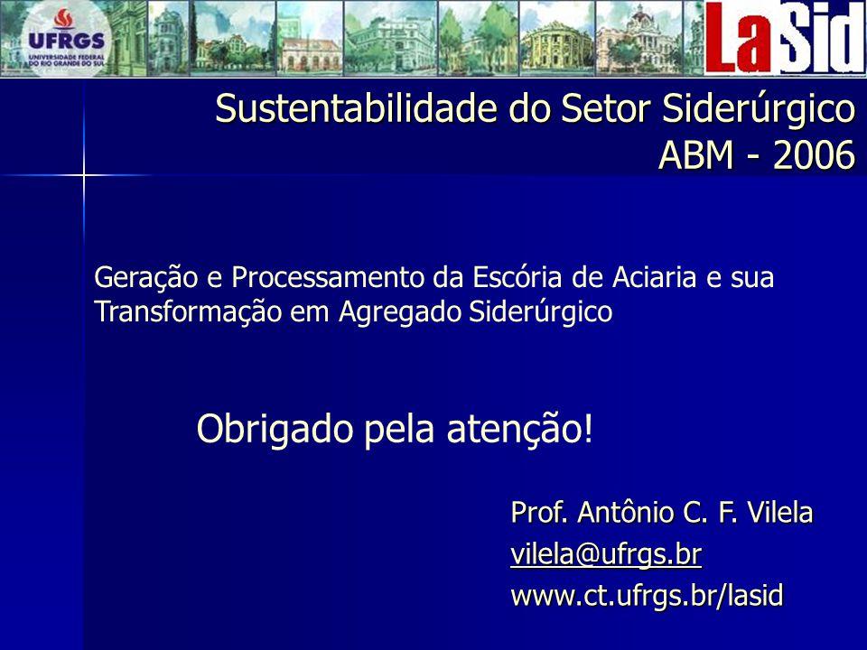 Sustentabilidade do Setor Siderúrgico ABM - 2006