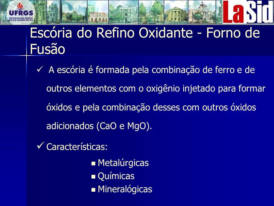 Escória do Refino Oxidante - Forno de Fusão