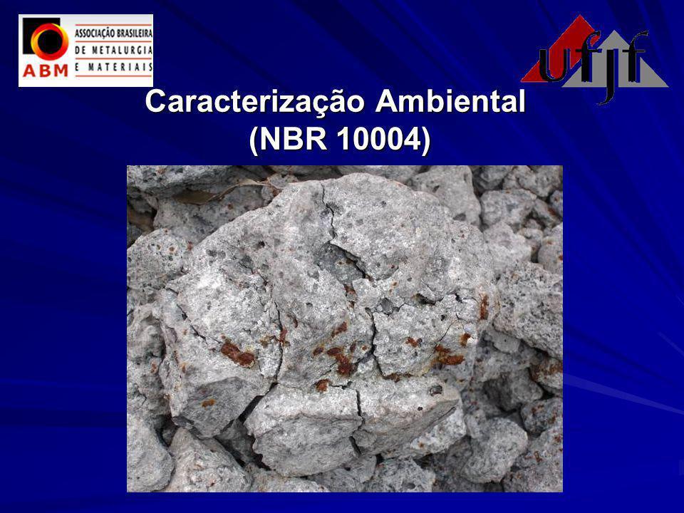 Caracterização Ambiental (NBR 10004)