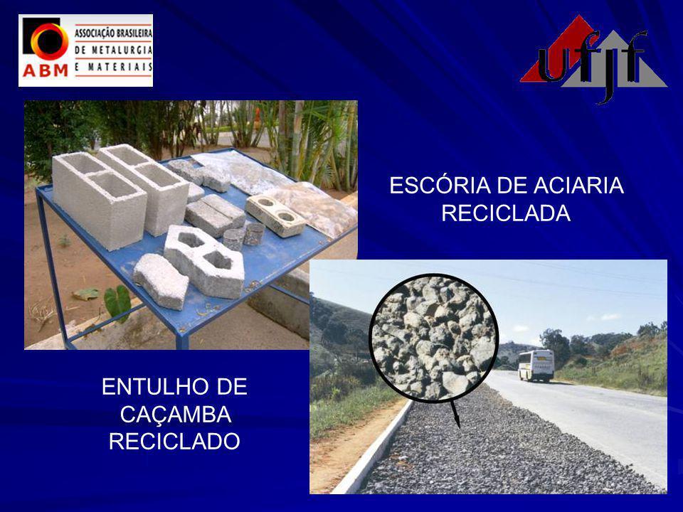ESCÓRIA DE ACIARIA RECICLADA