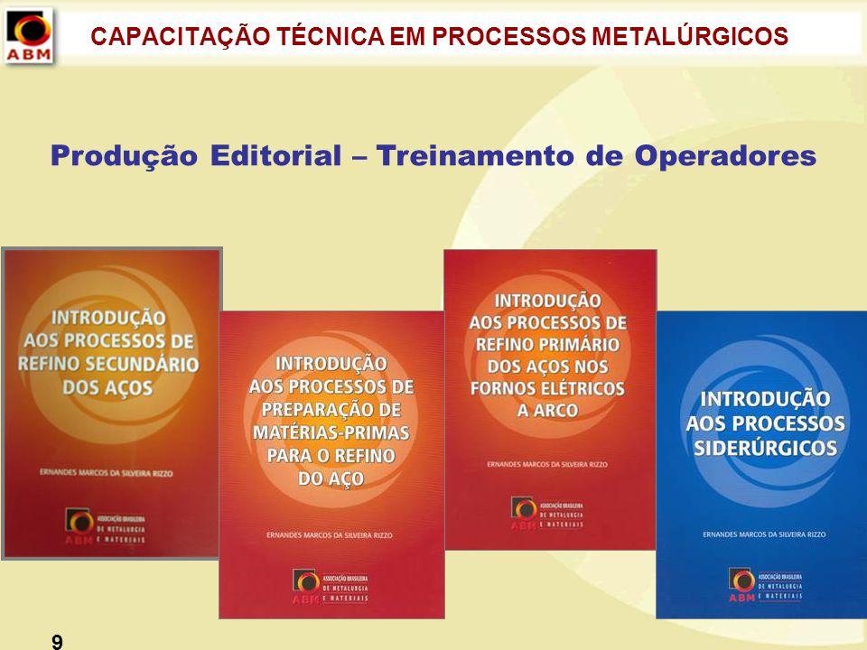 CAPACITAÇÃO TÉCNICA EM PROCESSOS METALÚRGICOS