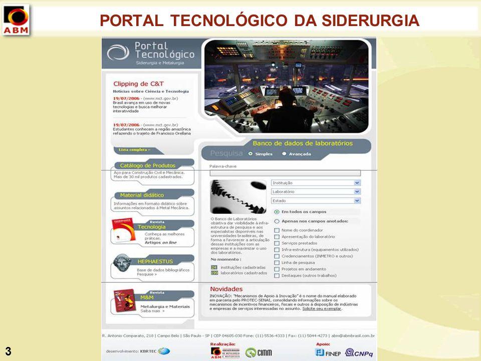 PORTAL TECNOLÓGICO DA SIDERURGIA