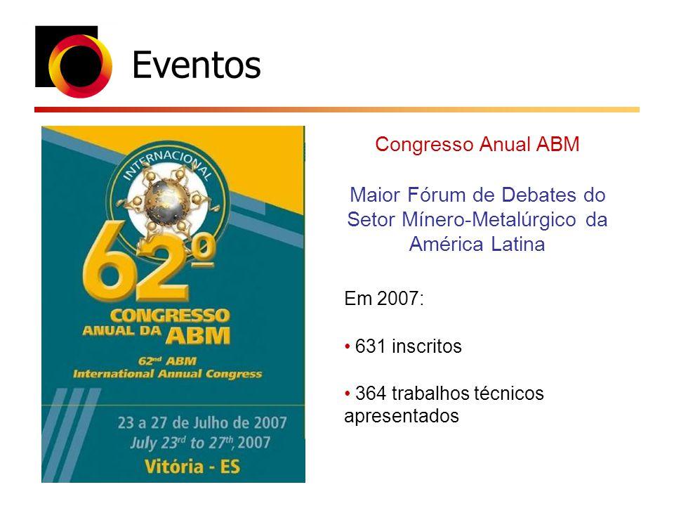 Maior Fórum de Debates do Setor Mínero-Metalúrgico da América Latina