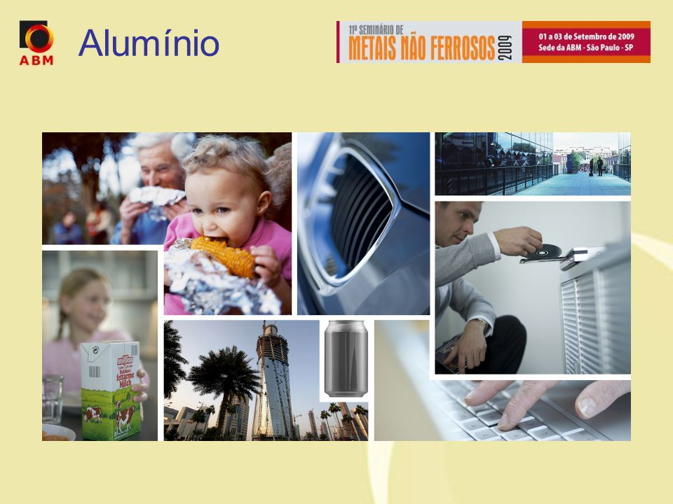 Alumínio Aluminium – the metal of the future