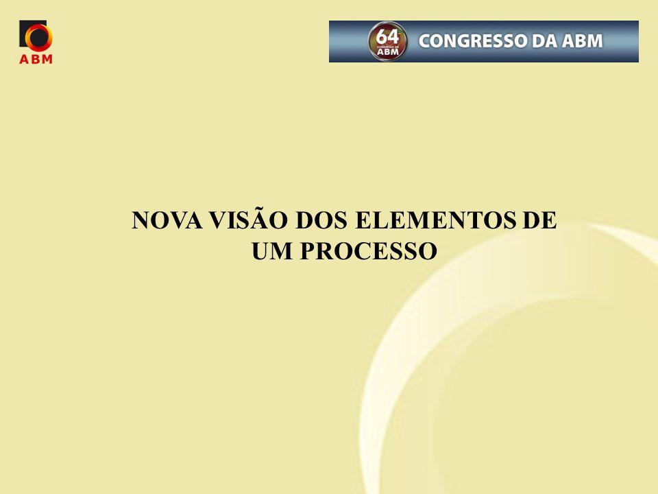 NOVA VISÃO DOS ELEMENTOS DE UM PROCESSO