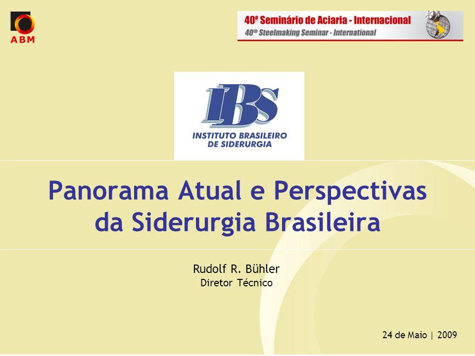 Panorama Atual e Perspectivas da Siderurgia Brasileira