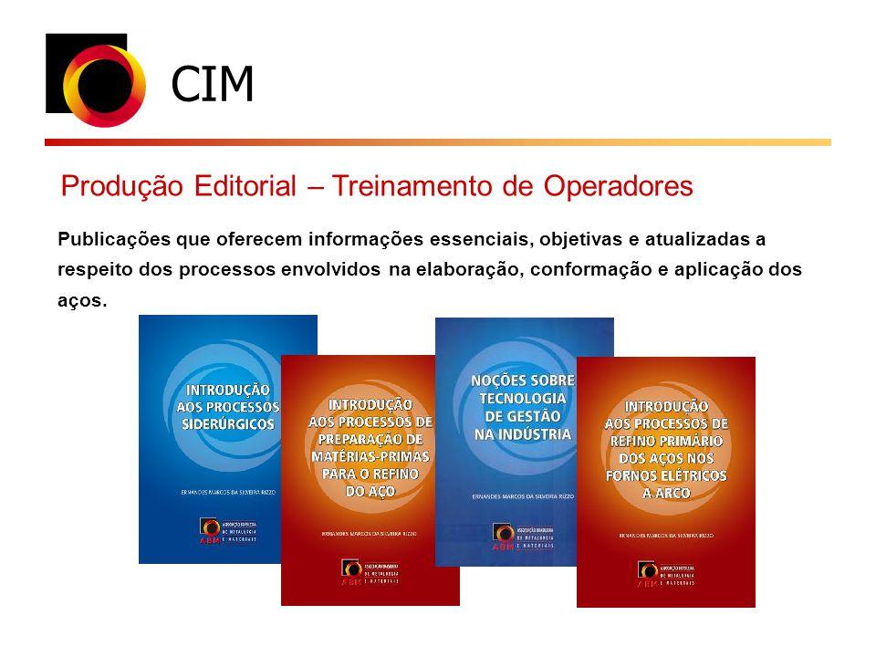CIM Produção Editorial – Treinamento de Operadores