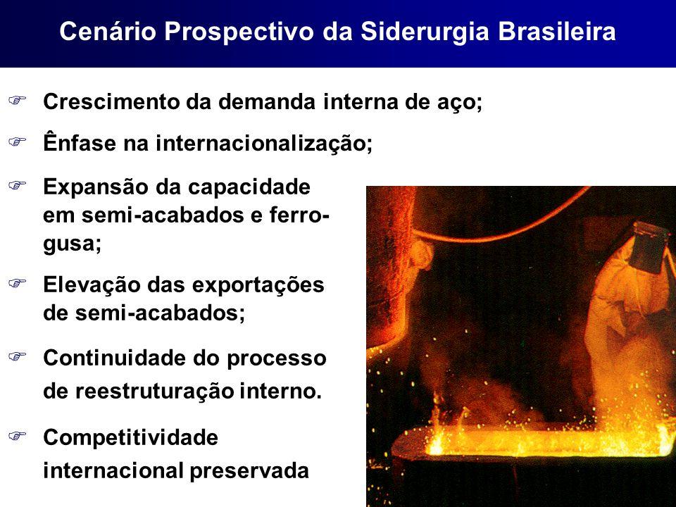 Cenário Prospectivo da Siderurgia Brasileira