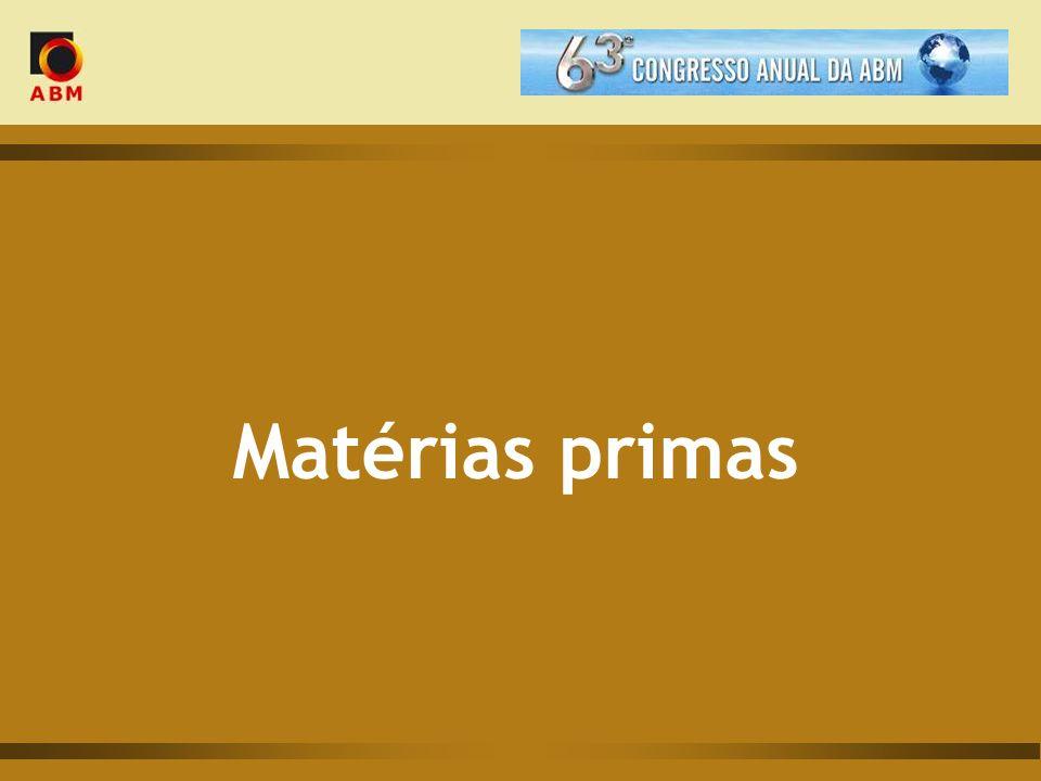 Matérias primas