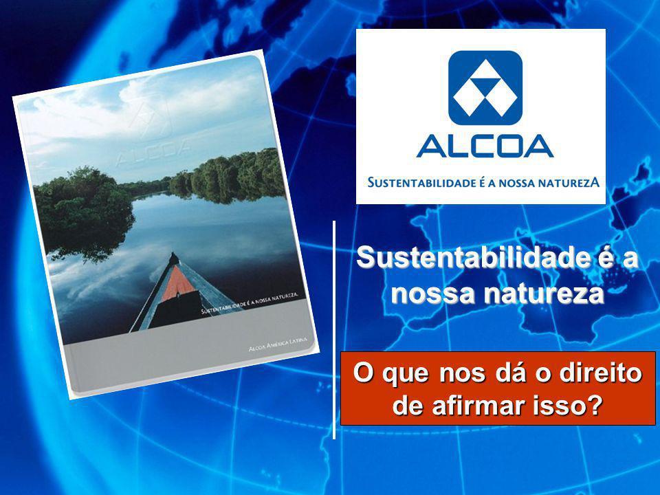 Sustentabilidade é a nossa natureza
