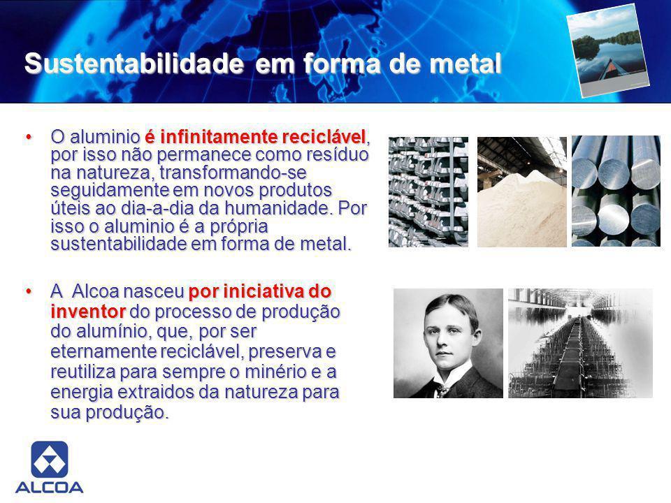 Sustentabilidade em forma de metal