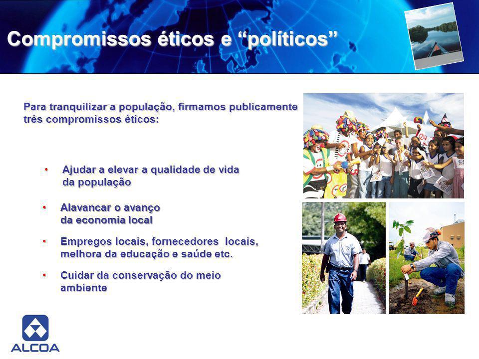 Compromissos éticos e políticos