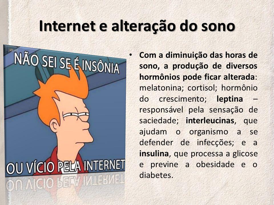 Internet e alteração do sono