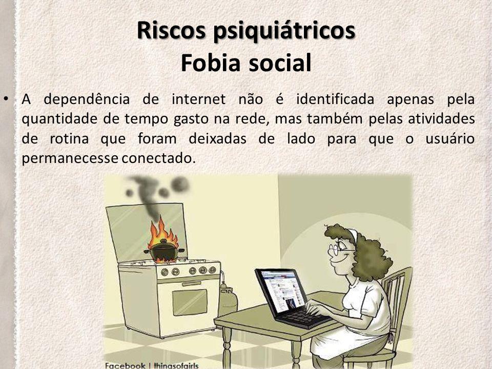 Riscos psiquiátricos Fobia social