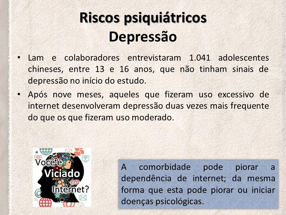 Riscos psiquiátricos Depressão