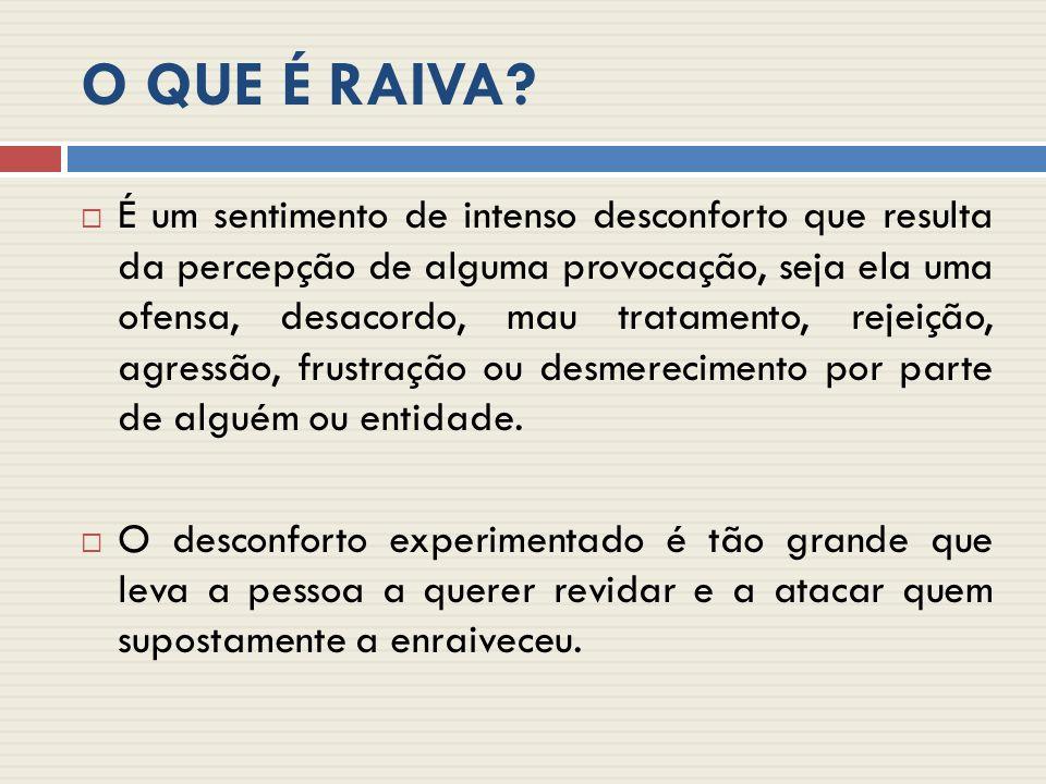 O QUE É RAIVA