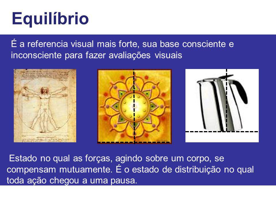 Equilíbrio É a referencia visual mais forte, sua base consciente e