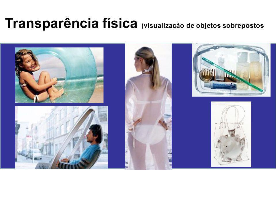 Transparência física (visualização de objetos sobrepostos