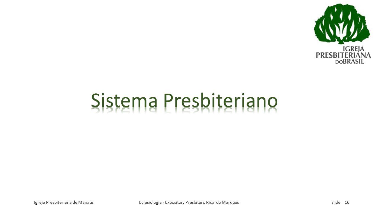 Sistema Presbiteriano