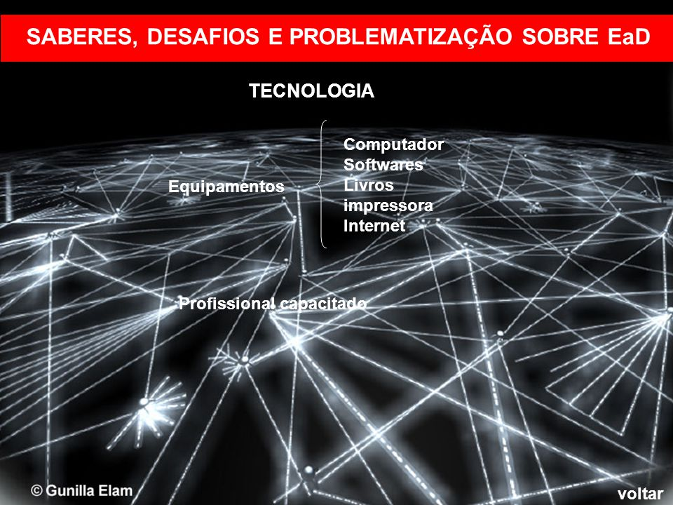 SABERES, DESAFIOS E PROBLEMATIZAÇÃO SOBRE EaD
