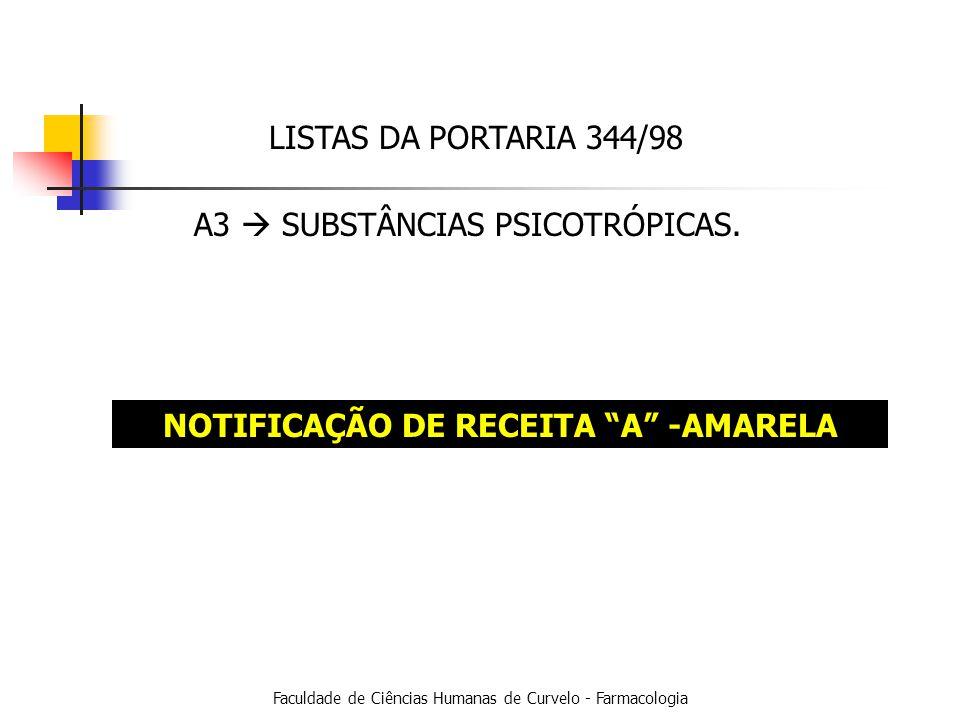 NOTIFICAÇÃO DE RECEITA A -AMARELA