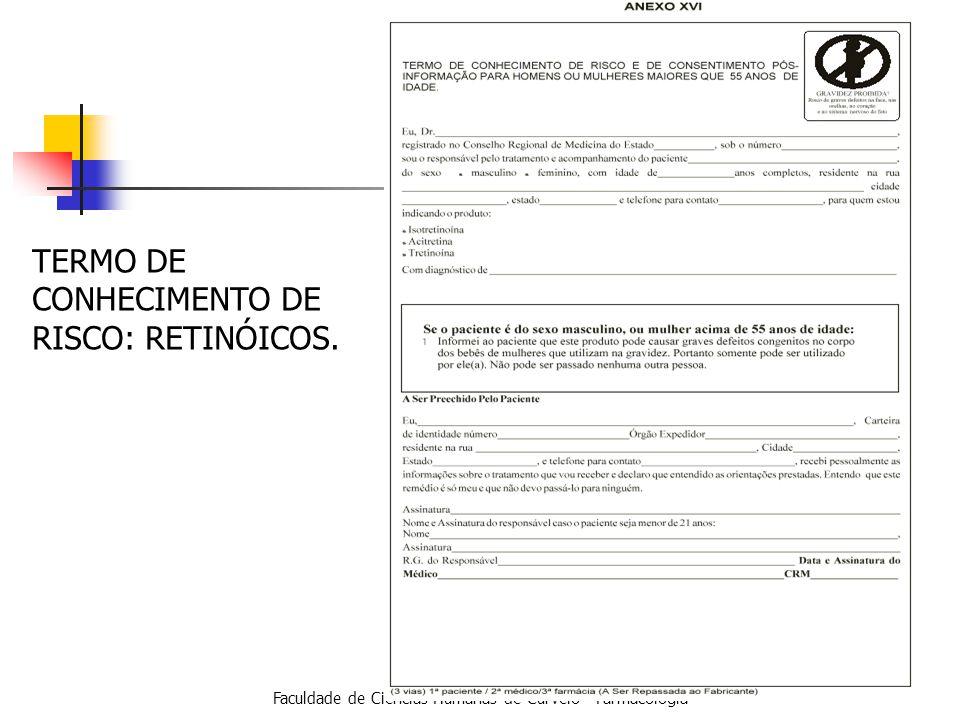 Faculdade de Ciências Humanas de Curvelo - Farmacologia