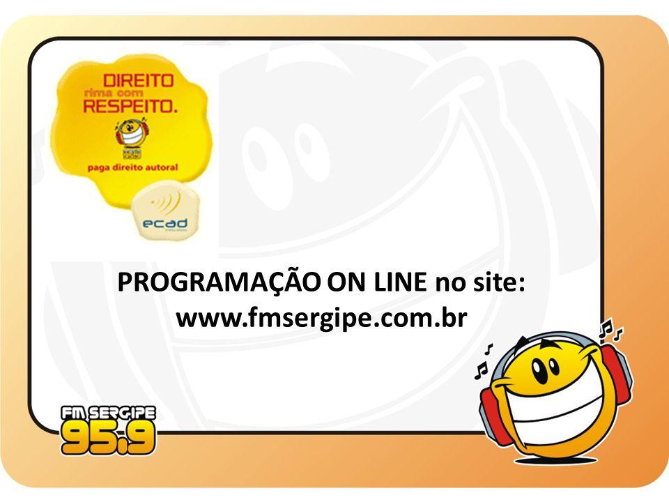 PROGRAMAÇÃO ON LINE no site: