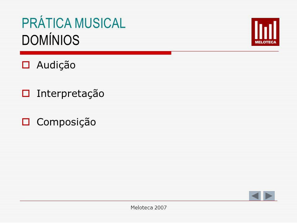 PRÁTICA MUSICAL DOMÍNIOS