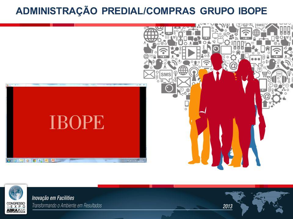 ADMINISTRAÇÃO PREDIAL/COMPRAS GRUPO IBOPE
