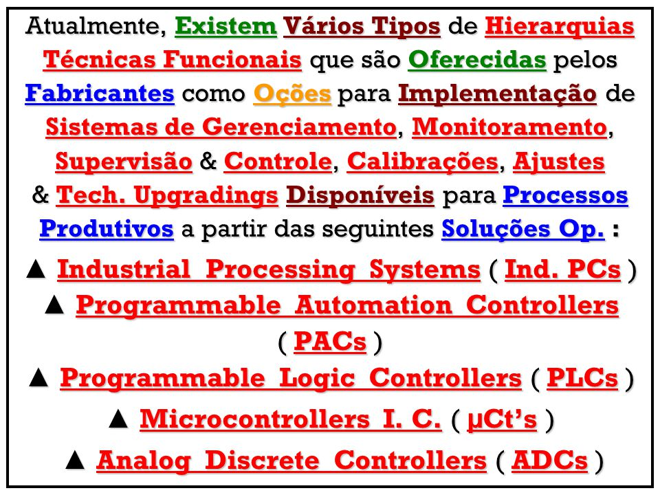 ▲ Industrial Processing Systems ( Ind. PCs )