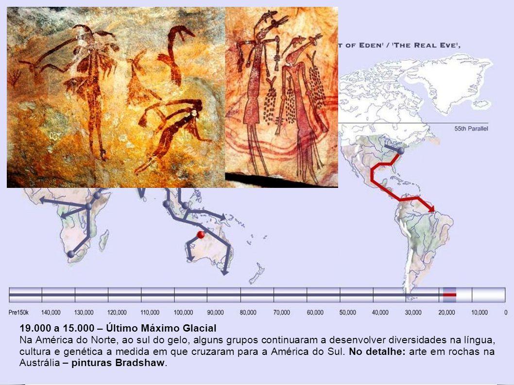 19.000 a 15.000 – Último Máximo Glacial