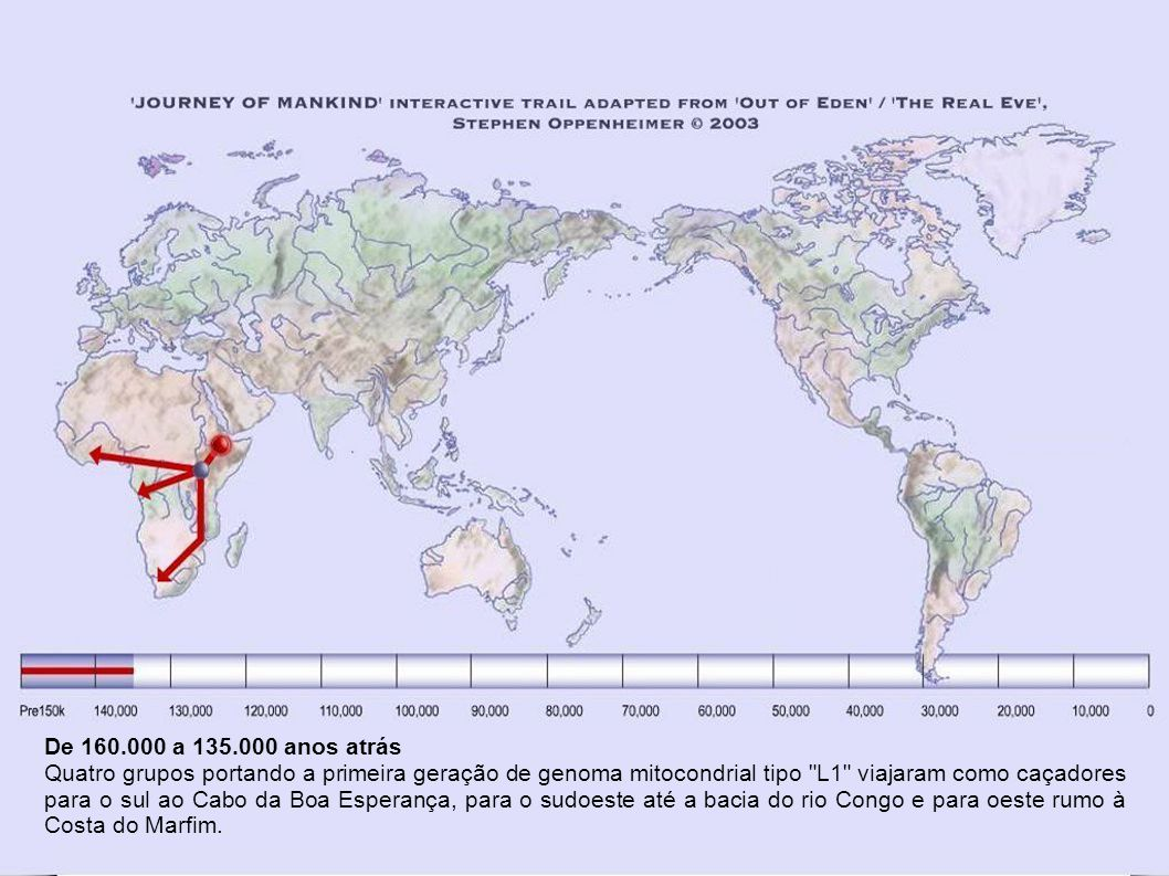 De 160.000 a 135.000 anos atrás