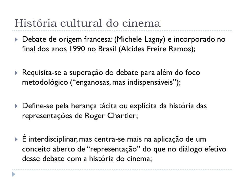 História cultural do cinema
