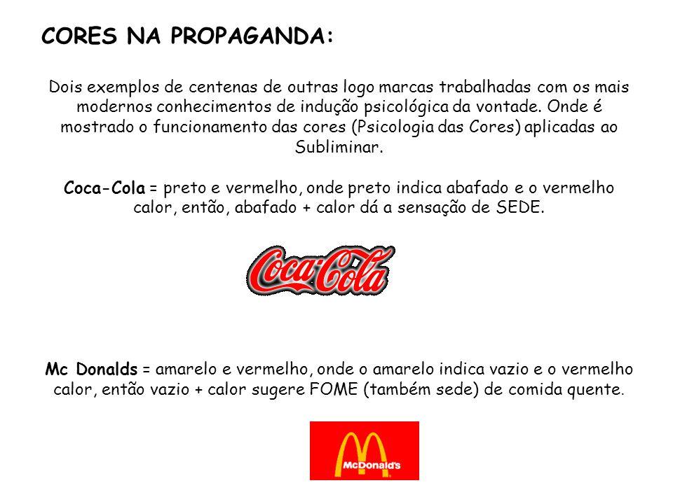 CORES NA PROPAGANDA: