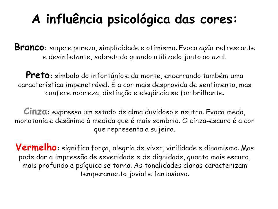 A influência psicológica das cores: