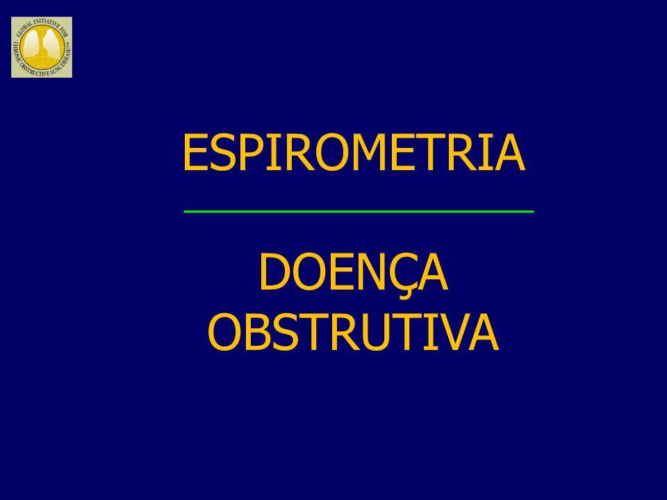 ESPIROMETRIA DOENÇA OBSTRUTIVA