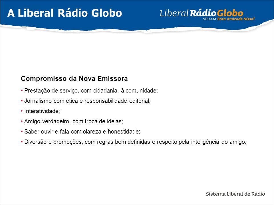 A Liberal Rádio Globo Compromisso da Nova Emissora