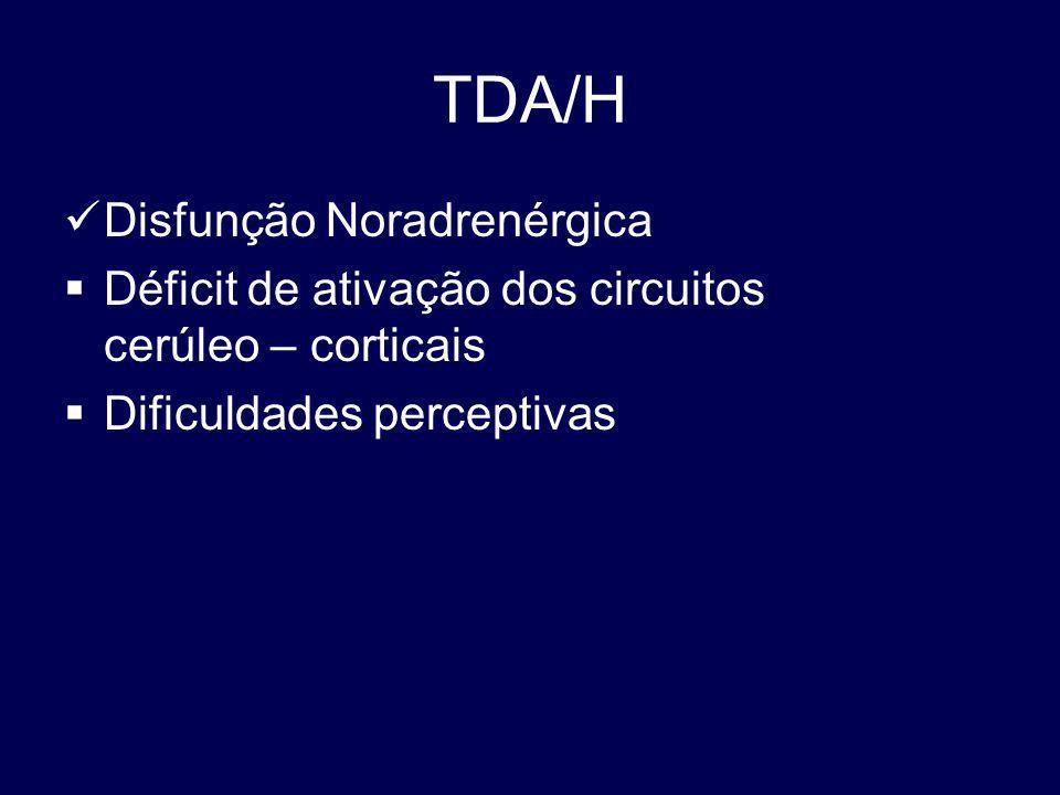 TDA/H Disfunção Noradrenérgica