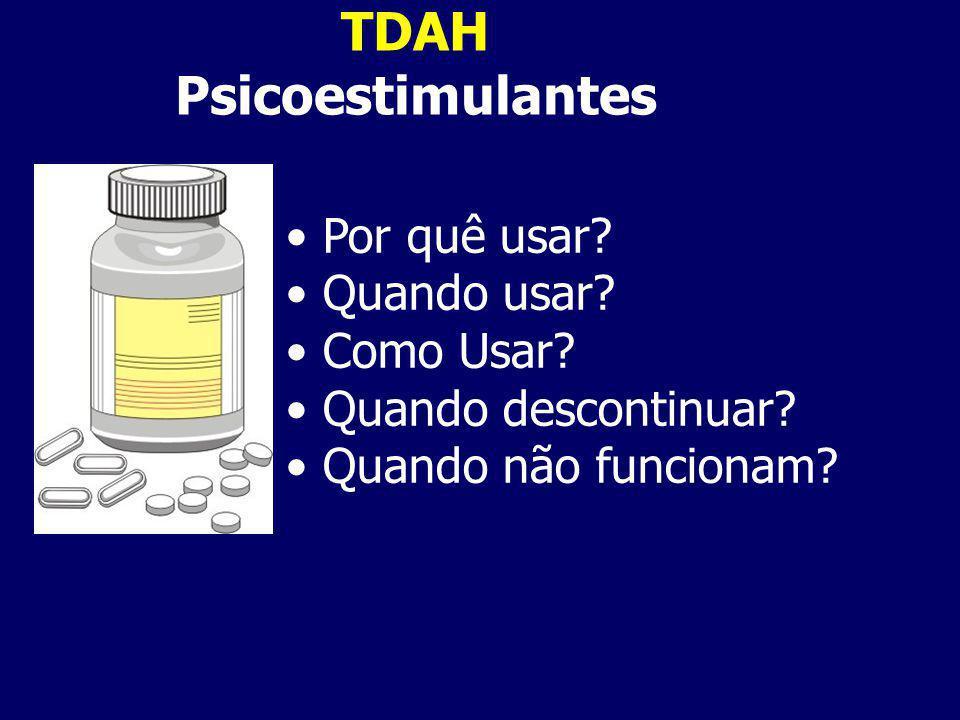 TDAH Psicoestimulantes