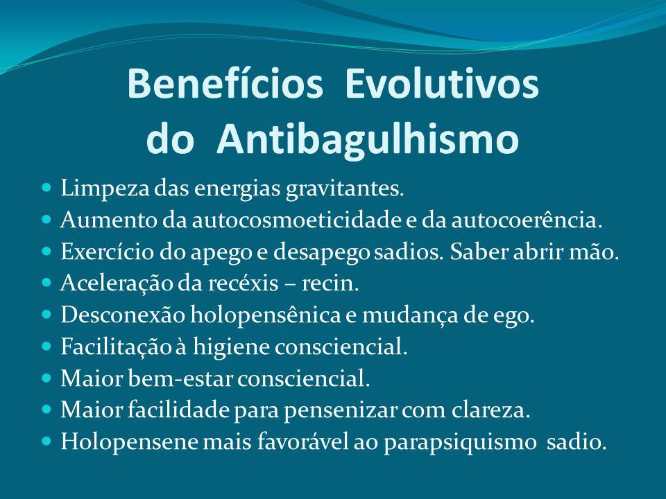 Benefícios Evolutivos do Antibagulhismo