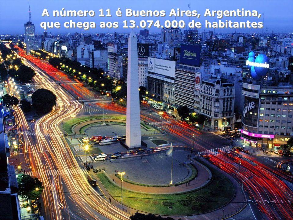 A número 11 é Buenos Aires, Argentina,