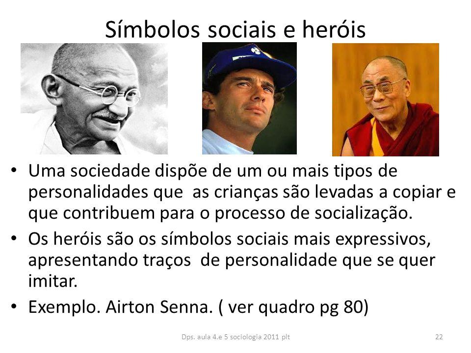 Símbolos sociais e heróis