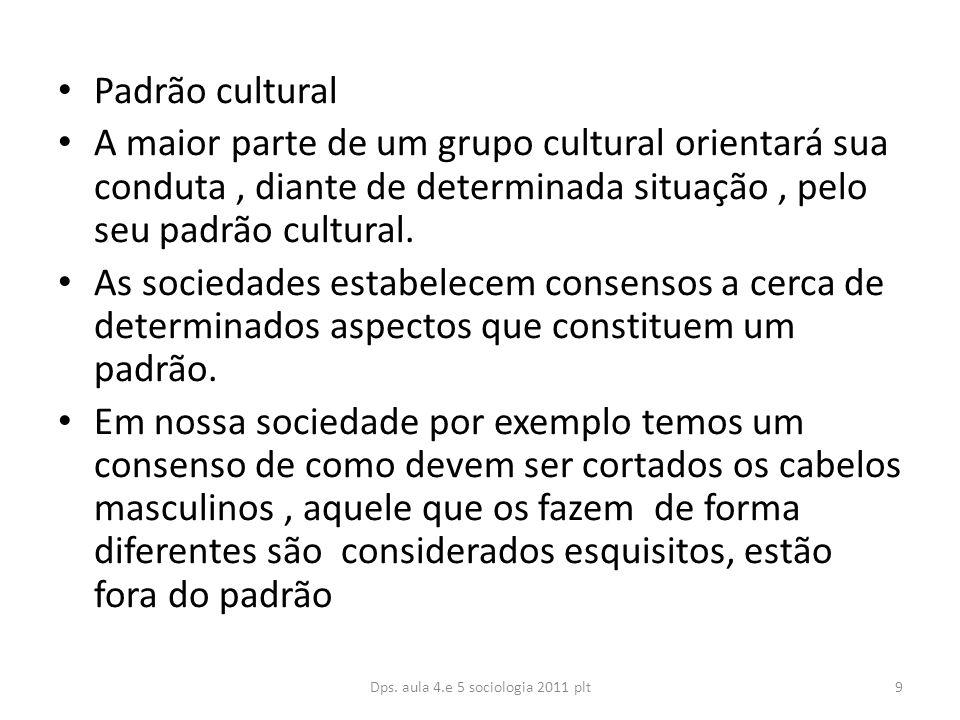 Dps. aula 4.e 5 sociologia 2011 plt