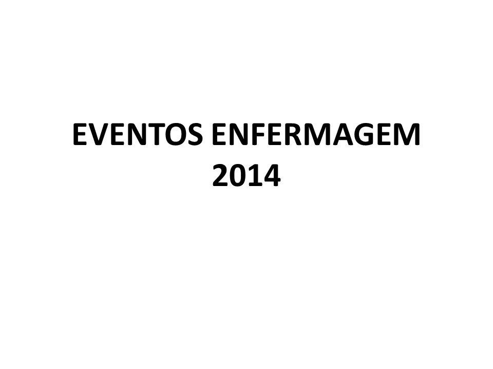 EVENTOS ENFERMAGEM 2014