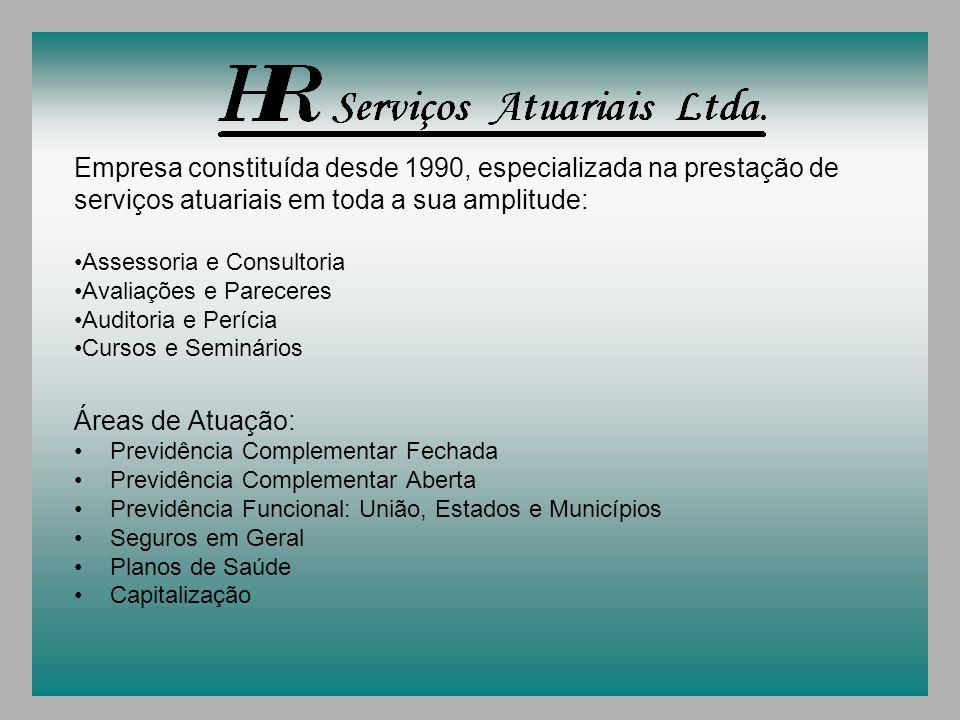 Empresa constituída desde 1990, especializada na prestação de