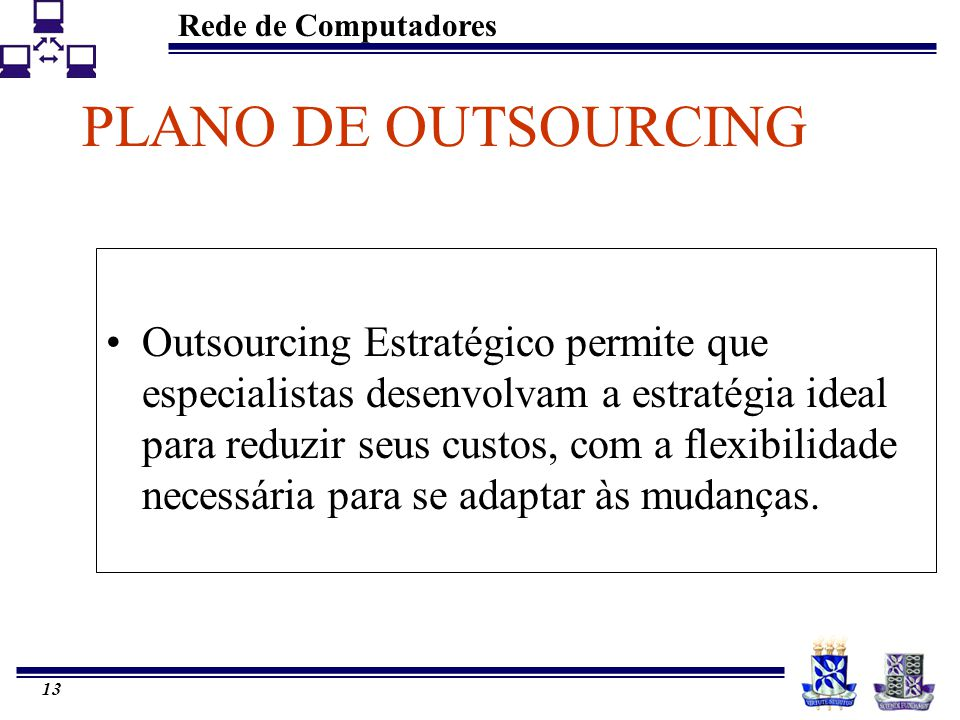 PLANO DE OUTSOURCING