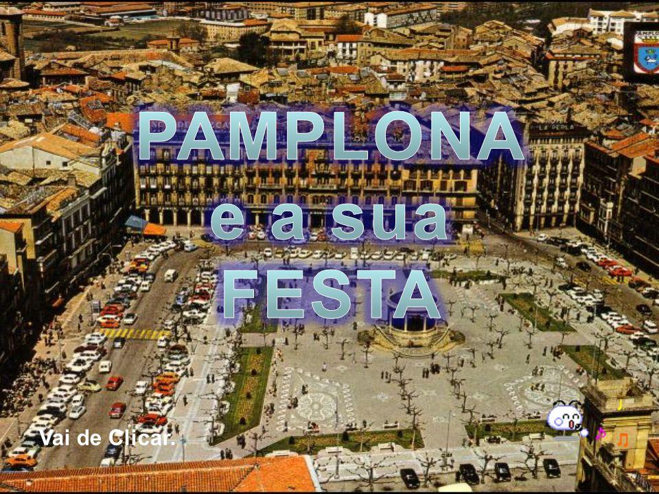 PAMPLONA e a sua FESTA Vai de Clicar.