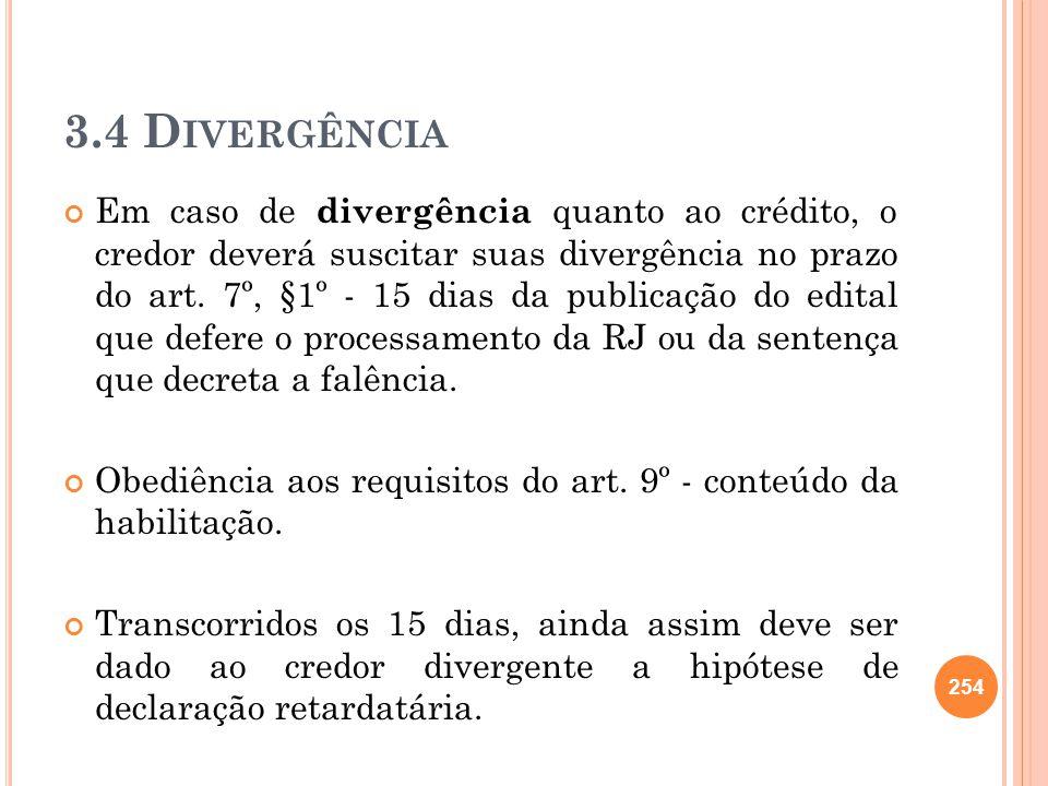 3.4 Divergência