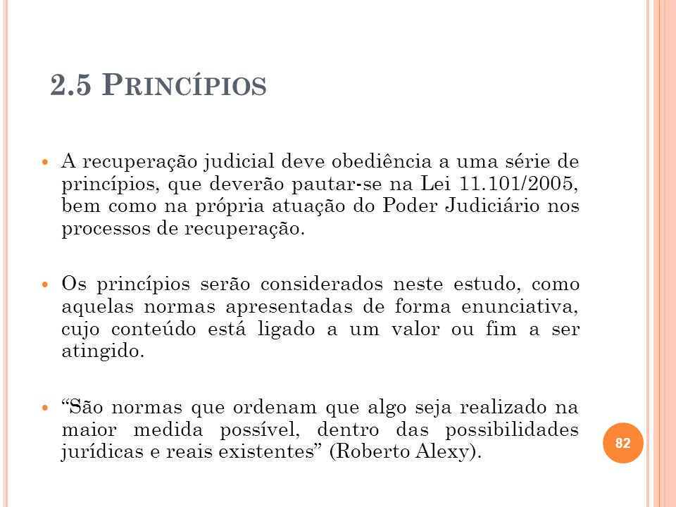 2.5 Princípios