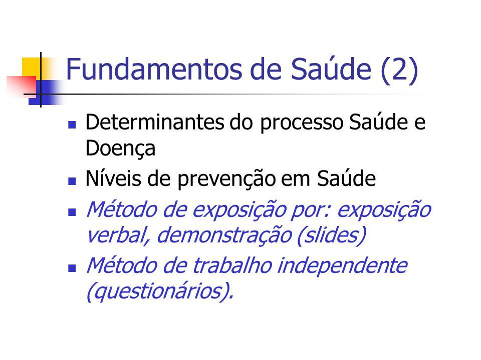 Fundamentos de Saúde (2)